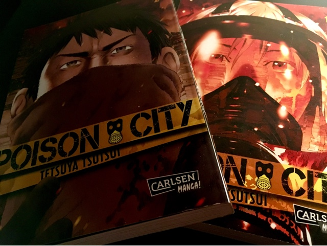 Rezension zum Manga Poison City (carlsen Manga)
