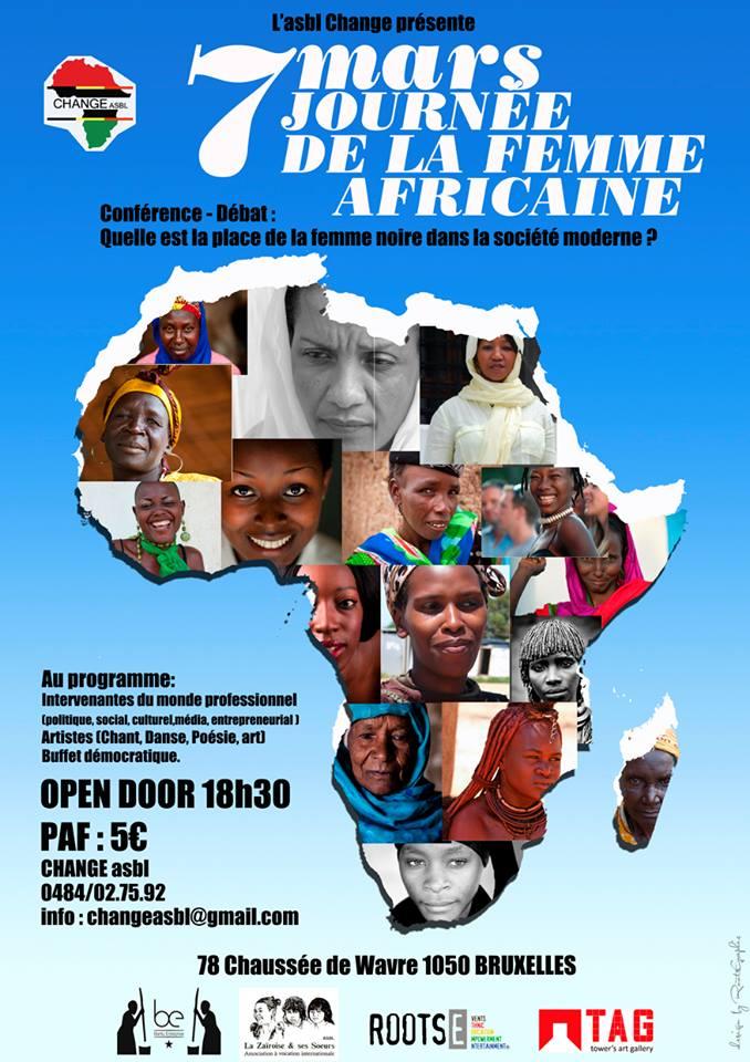 8 mars journée internationale de la femme : Conférence-Débat: Quelle est la place de la femme noire dans la société moderne ?