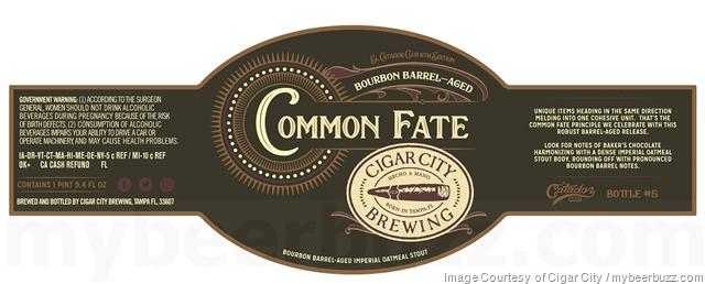 Cigar City Common Fate Coming To El Catador Club 8th Edition
