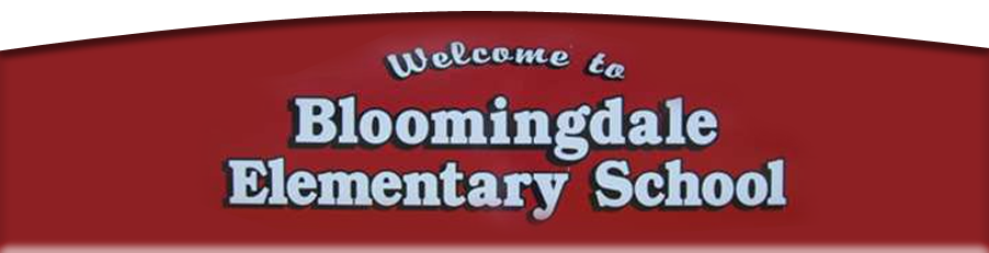 Welcome to Bloomingdale Elementary School.