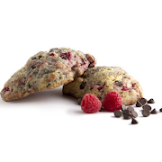 Raspberry Chocolate Scones