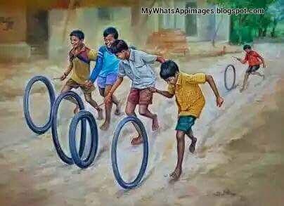 Punjabi Childhood Games Photos