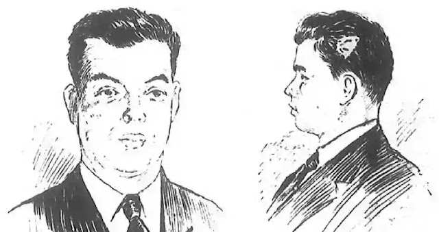 A police sketch of Roland T. Owen released after his death.