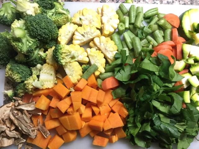 Sopa de Verduras [Foto-Receta]