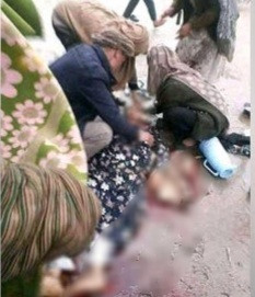 Woman 'executed by Taliban for not wearing burqa' as fighters patrol streets (graphic photo)