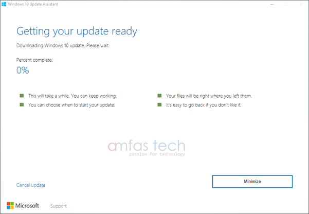Downloading-windows10-anniversary-update