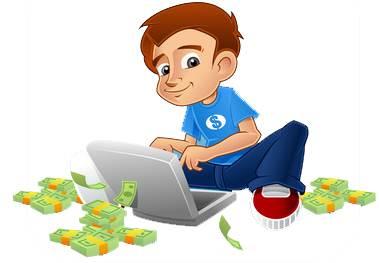 banyak cara mendapatkan uang dan penghasilan dari internet