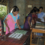 Training to 30 SAMAM members on  Soap, Computer sambirani, cleaning powder  etc.,