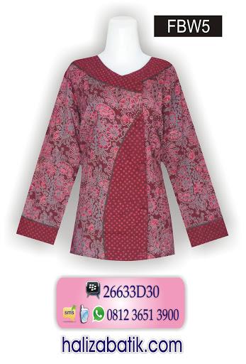 desain baju batik modern, busana batik, baju batik terbaru