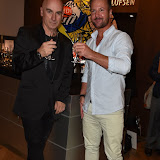 OIC - ENTSIMAGES.COM - Tony Moore - Iron Maiden Singer and  Robert Griffiths at the  Bang and Olufsen 90th Anniversary Love London Collection  London 10th September 2015 Photo Mobis Photos/OIC 0203 174 1069