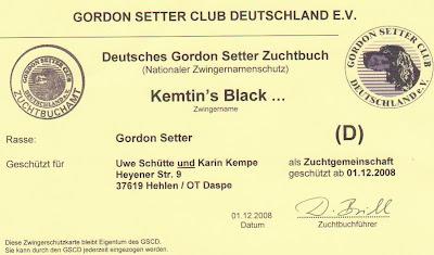 Kemtin´s Black Gordon-Setter Zucht Unsere Seiten: http://www.kemtins-black.de http://www.jagdhunde-web.de https://www.youtube.com/user/KemtinsBlack Andere Links zu unserer Gordon-Setter Zucht: http://www.vdh-gordon-setter.de http://www.gordon-setter-welpen-zucht.de https://sites.google.com/site/kemtinsblack/home