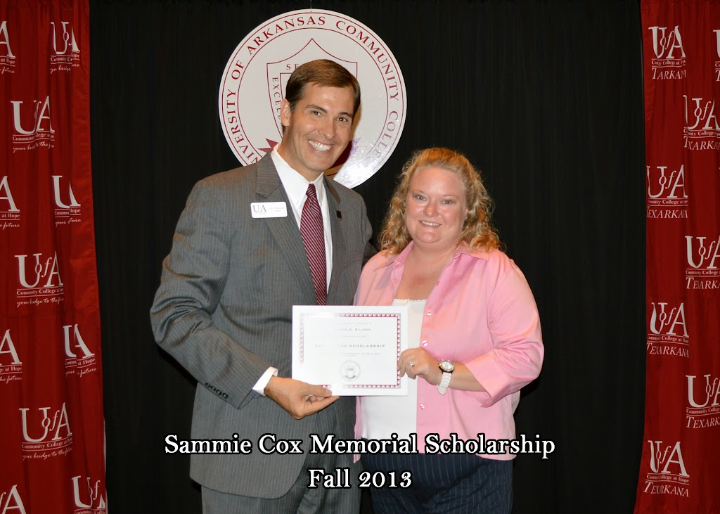 Scholarship Ceremony Fall 2013 - Sammie%2BCox%2BMemorial%2BScholarship.jpg