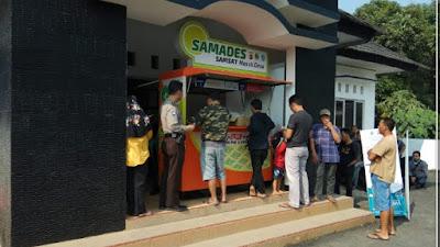 Samades Lemahabang Mau di Geser Ke Barat, Kades : Semoga Tahun Ini !