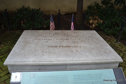 Betsy Ross' Grave
