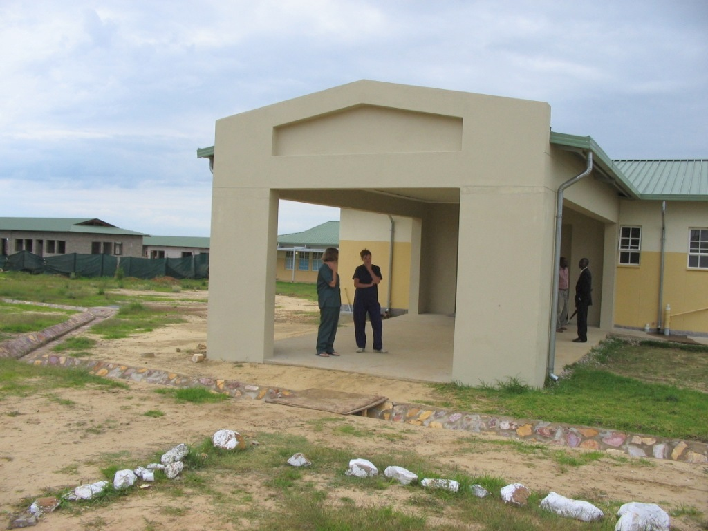 Hospital we designed in Angola