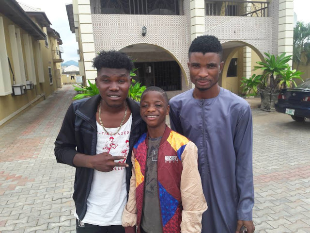 Hi Fans Am Here With Destiny Boy And Mr Bright Adeiza - Watch Video