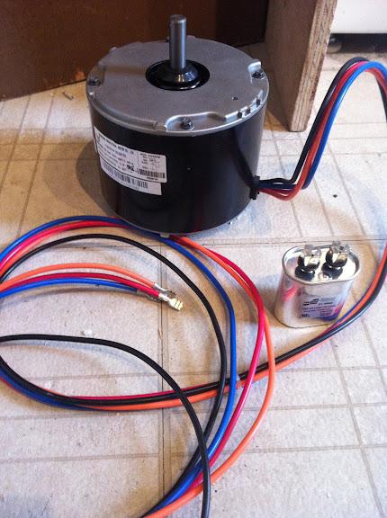 Motor Condenser Fan Motor Wiring Diagram Single Phase Motor Wiring