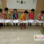 Ganesh Chaturthi Celebration by Playgroup Afternoon Section at Witty World, Chikoowadi (2017-18)