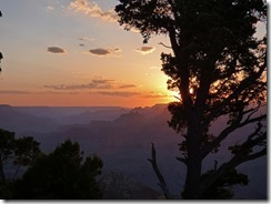 Sunset, Desert View, Grand Canyon
