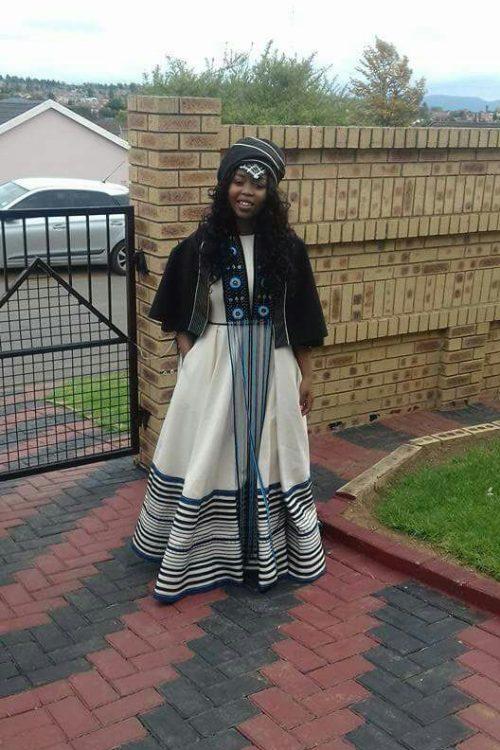 Traditional Shweshwe Outfits With Print 2018 Fashionre