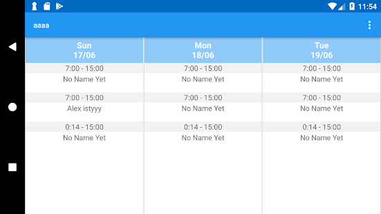 Download Work and Schedule Organizer For PC Windows and Mac apk screenshot 4