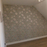Feature wall in Chorley, Lancs