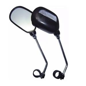 Set oglinzi pentru bicicleta, universale, negru