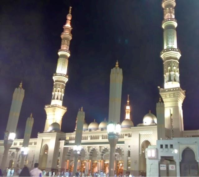 Masjid E Nabvi Roza E Rasool Inside, Check Out Masjid E