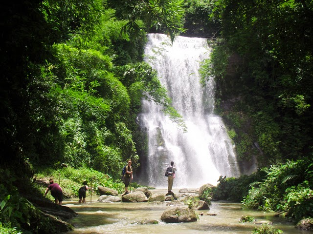 Beautiful Hamham Waterfalls at Rajkandi Reserve Forest