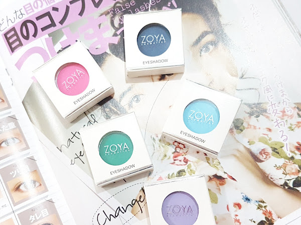 [Review] ZOYA Single Eyeshadow