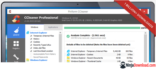 What can CCleaner do?