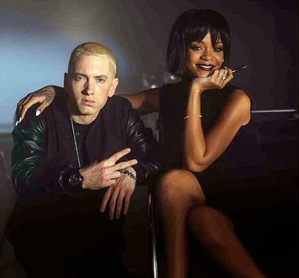 Eminem y Rihanna - foto promocional del single The monster