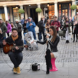 OIC - ENTSIMAGES.COM -  Megan McKenna Busking in Covent Garden  in London 10th February 2016  Photo Mobis Photos/OIC 0203 174 1069