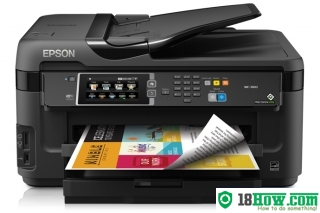 How to Reset Epson WorkForce WF-3510 printing device – Reset flashing lights problem