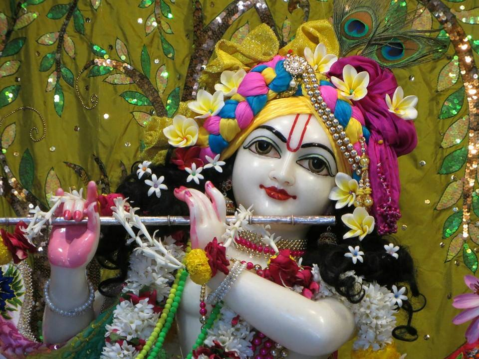ISKCON Aravade Deity Darshan 17 Dec 2015 (2)