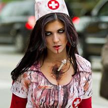 Enfermeira zumbi