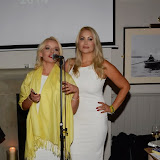 WWW.ENTSIMAGES.COM -       Pola Pospieszalska and Victoria Eisermann    at    Christmas with the K9 Angels at The Bridge Pub and Dining Rooms Casteinau Barnes London December 10th 2014                                                 Photo Mobis Photos/OIC 0203 174 1069