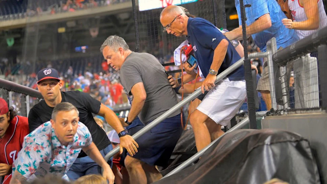 Pandemonium Breaks Out In D.C. Ballpark After Shooting; 3 Wounded, Stadium Emptied, Game Postponed