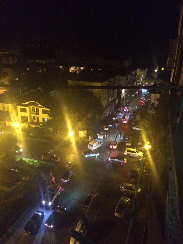 Взрыв в центре Сухуми, ранен парень