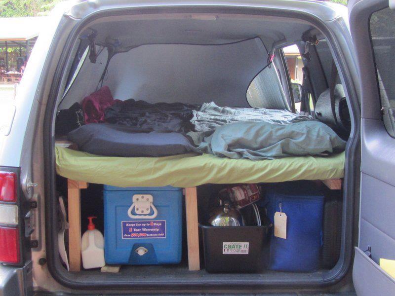 offroad fun so wird dein 4wd ein camper. Black Bedroom Furniture Sets. Home Design Ideas