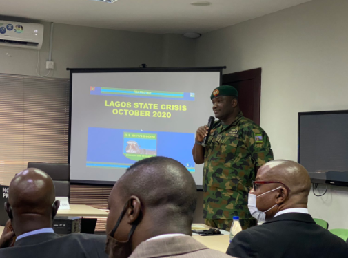 Why we initially denied our personnel were at the Lekki tollgate - Nigerian Army (video)