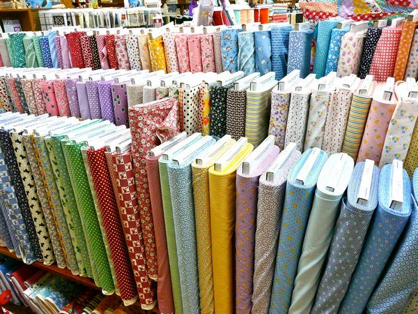 Various types of woven fabric