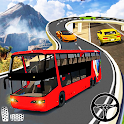 Uphill Bus Driving City Coach Simulator Bus Games icon