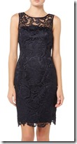 Adriana Papelle lace shift dress