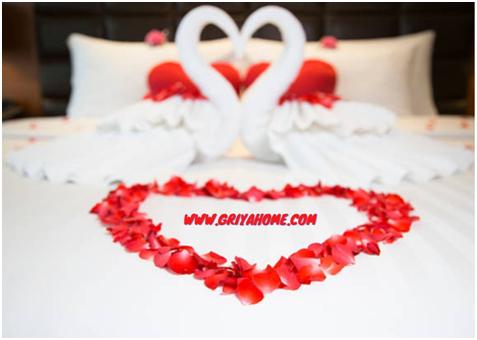 warna cat kamar tidur romantis