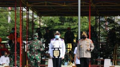 Apel Gelar Satgas Huma Secara Serentak di Wilayah Kodam XII/Tpr.