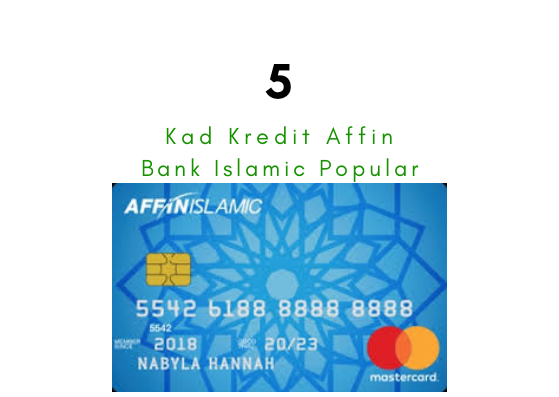 Kad Kredit Affin Islamic Popular
