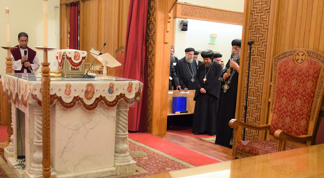 His Holiness Pope Tawadros II visit to St. Mark LA - DSC_0171.JPG