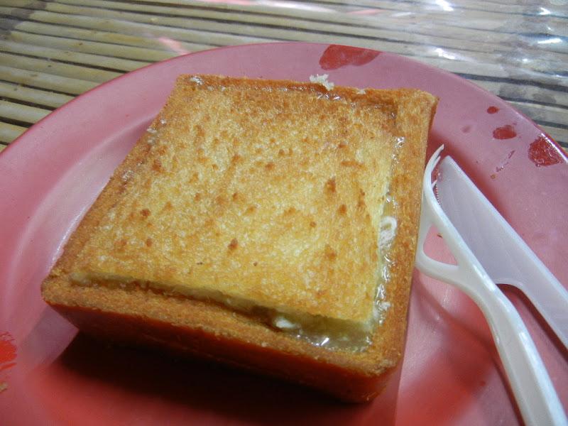 Coffin Sandwiches, specialité de Tainan, délicieux  Guancai Ban (棺��Pain fourrré en forme de cercueil)