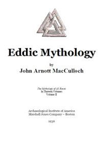 Cover of John Arnott MacCulloch's Book Eddic Mythology